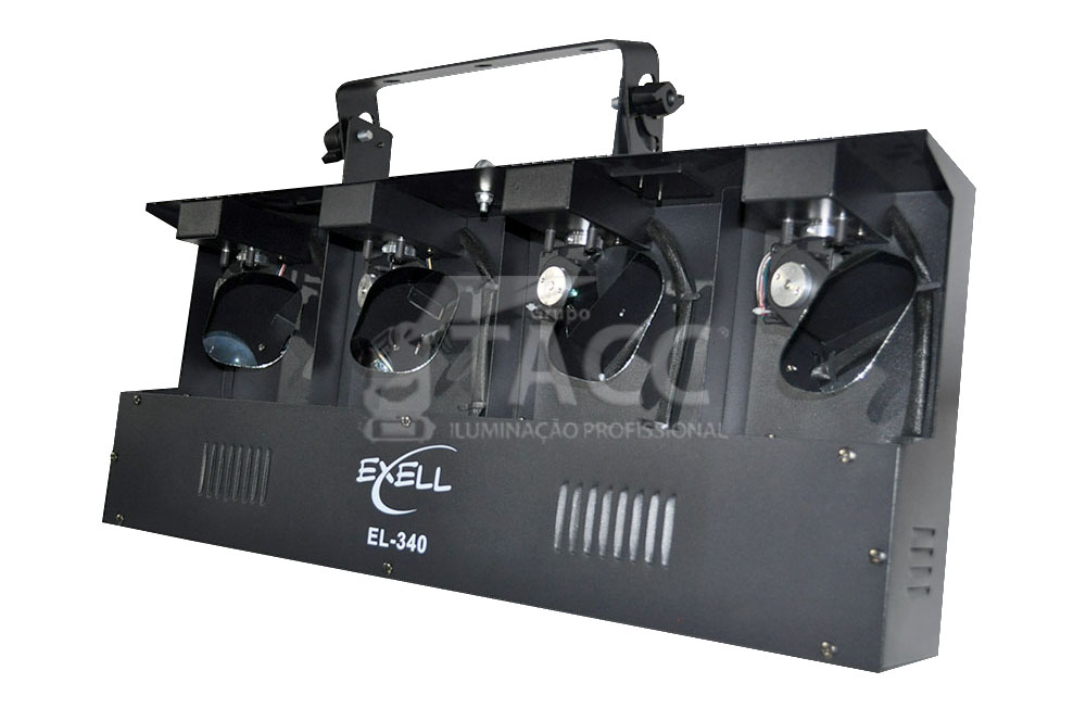 MOVING SCAN LED 4 X 10W RGBW  EL-340 - EXELL