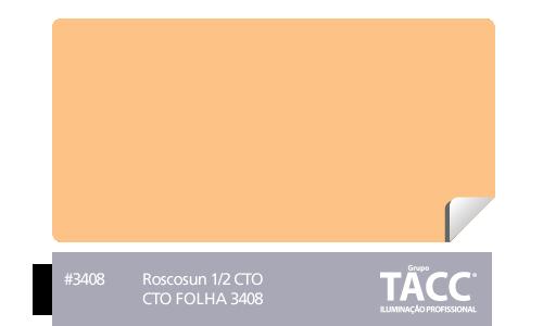 GELATINA CINEGEL CTO FOLHA 3408 - ROSCO