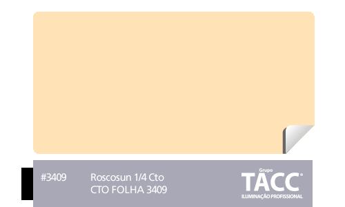 GELATINA CINEGEL CTO FOLHA 3409 - ROSCO