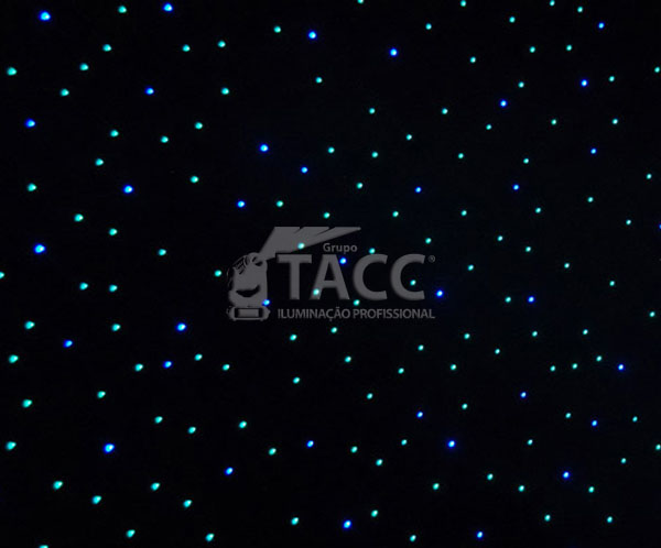 CORTINA DE LED 3 X 2 MT DMX S DRAPE LED - CHAUVET