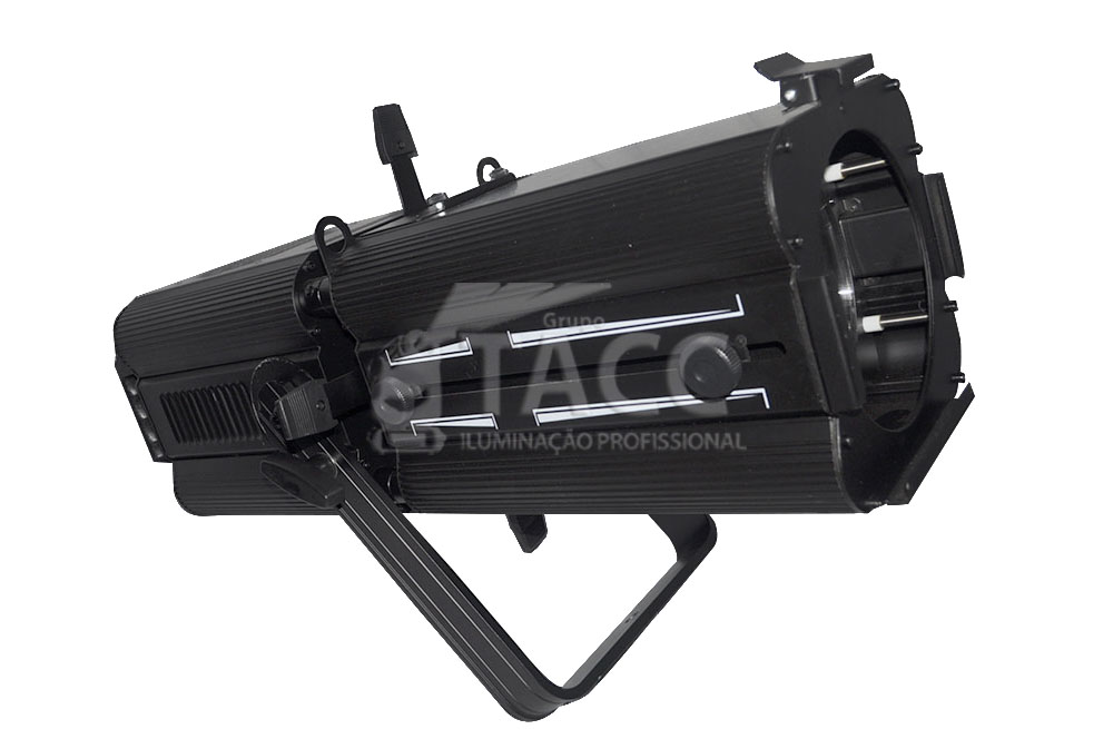 ELIPSOIDAL LED 1 X 200W BRANCO QUENTE 17°A 50°