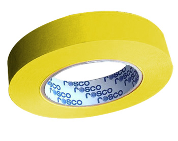 FITA CINE TAPE FLUORESCENTE AMARELA 24MM X 25 MT - ROSCO