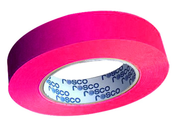 FITA CINE TAPE FLUORESCENTE PINK 24MM X 25 MT - ROSCO