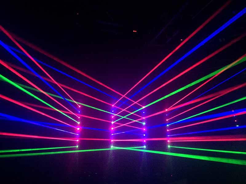 LASER 08 SAIDAS RGB COM TILT DMX