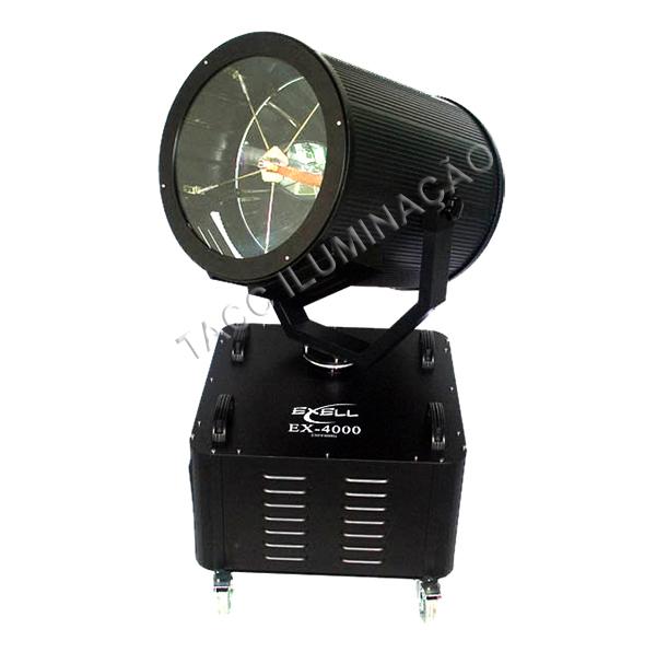 ILUMINADOR 4000W SKY ROSE COM CASE - EXCELL