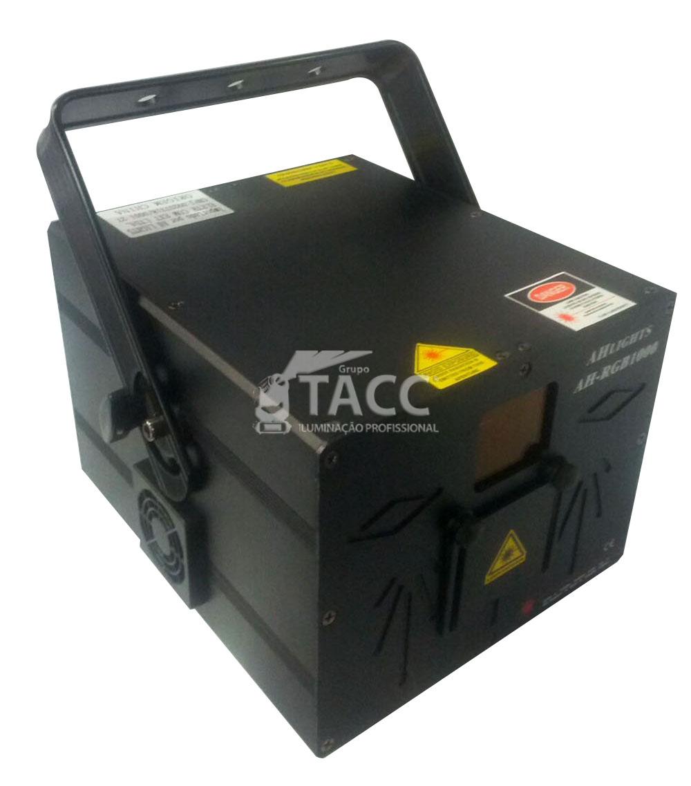 LASER RGB-1000 VERM 350MW / VERD 100MW / AZUL 550MW