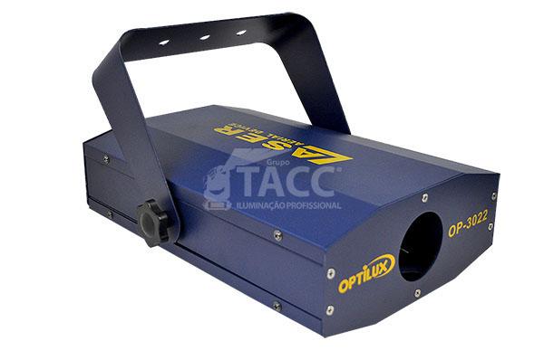 LASER VERDE DMX 150mW OP-3022 - TEC PORT