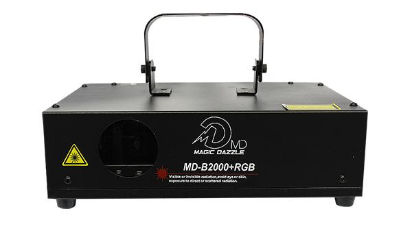 LASER RGB 2000 DMX / BIVOLT