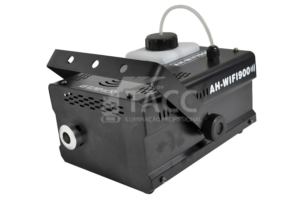 MAQUINA DE FUMACA 900W COM FIO E WIFI AH-900