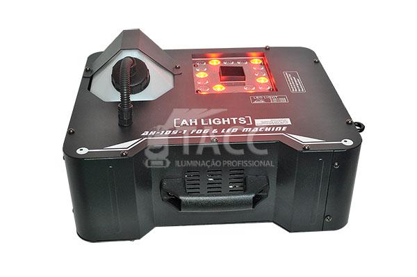 MÁQUINA DE FUMAÇA COM LEDS RGB AH-109-1