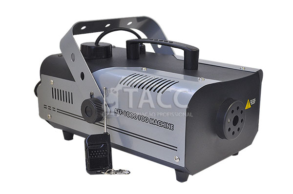 MAQUINA FUMACA 1000W FOG MACHINE SEM FIO 220V