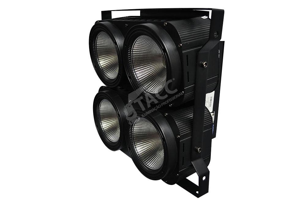 MINI BRUTE LED 4 X 100W BRANCO QUENTE RC-400