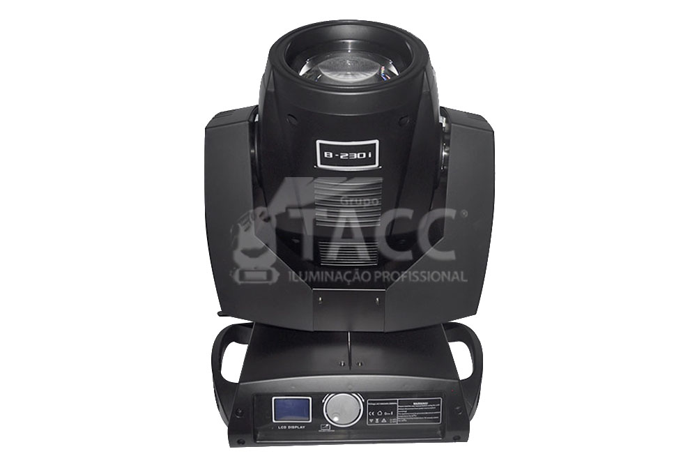 MOVING HEAD SPOT BEAM B-230 - 7R CASE DUPLO