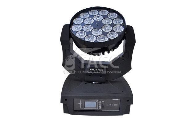 MOVING HEAD WASH LED LX-1518