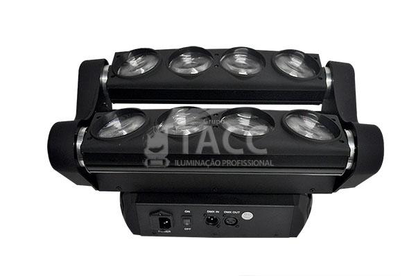 MOVING LED ARANHA 8 X 10W RGBW EL-90 - EXELL