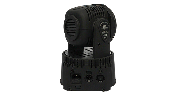 MOVING HEAD LED WASH 7 X 12W RGBW