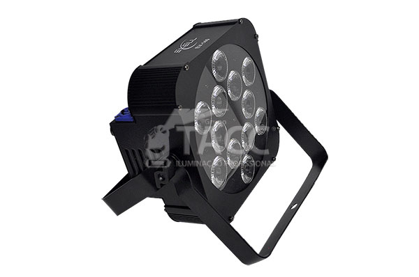 REFLETOR LED 12 X 18W RGBWA + UV INDOOR EV-140 - EXELL