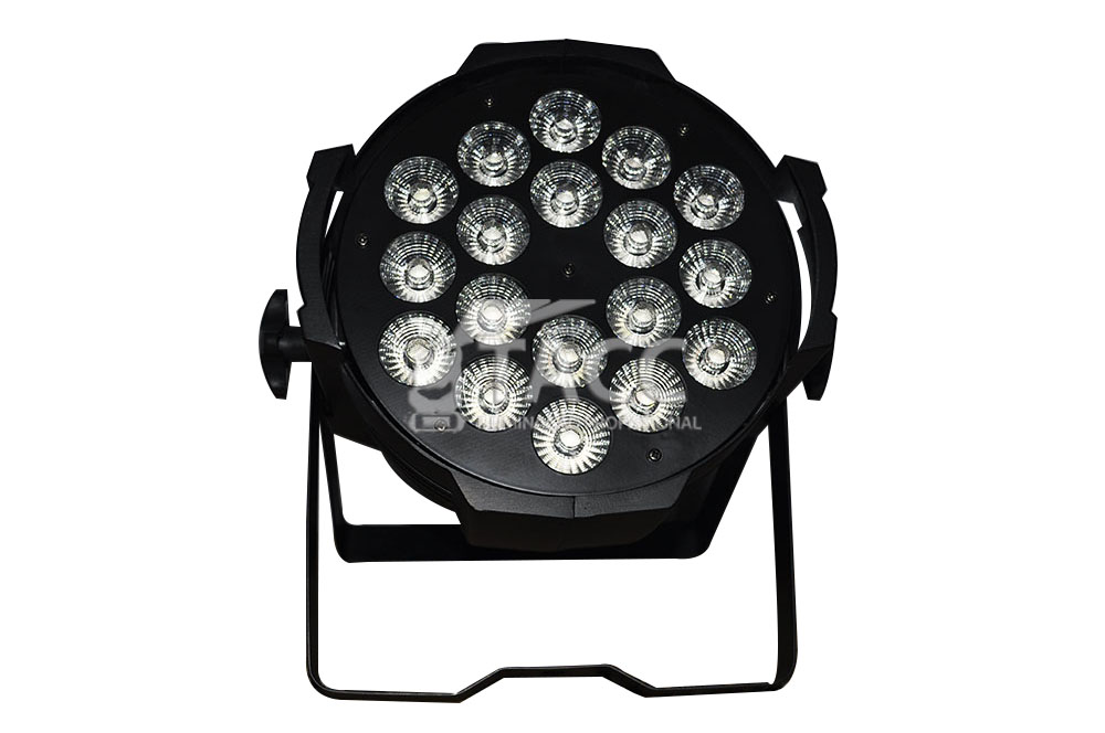 REFLETOR LED 18 X 10W RGBW + UV PL-1812