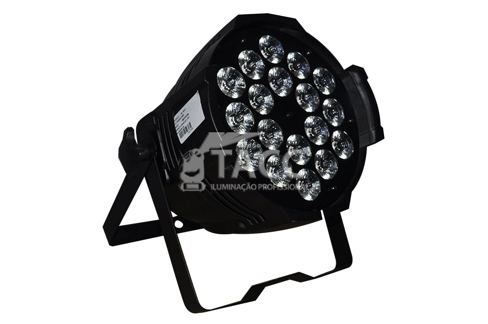 REFLETOR LED 18 X 10 RGBWA FULL LED PL-1813