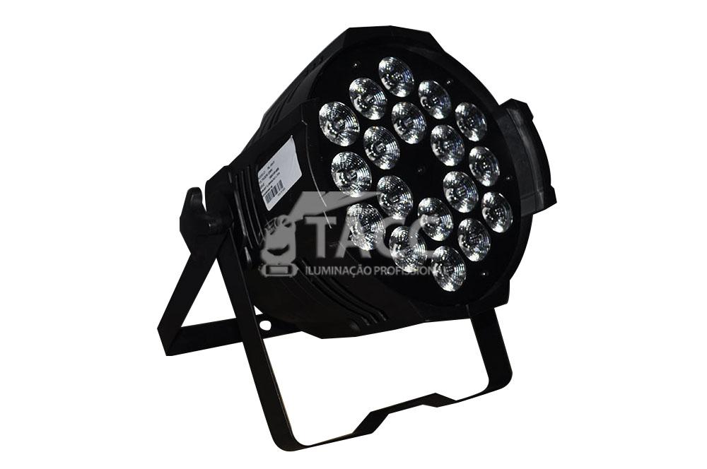 REFLETOR LED 18 X 10W RGBWA + UV PL-1814