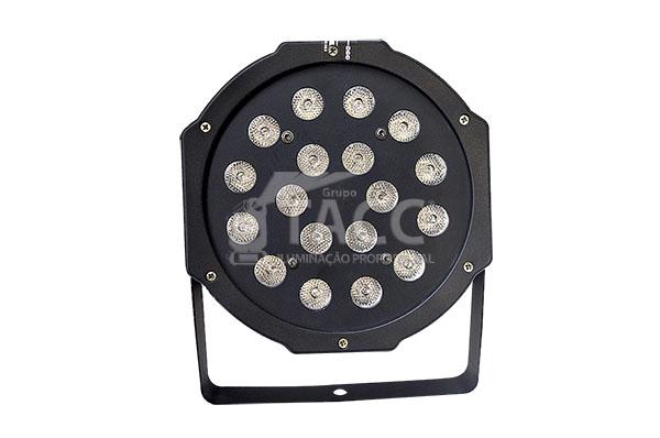 REFLETOR LED 18 X 1WTS RGB  SLIM