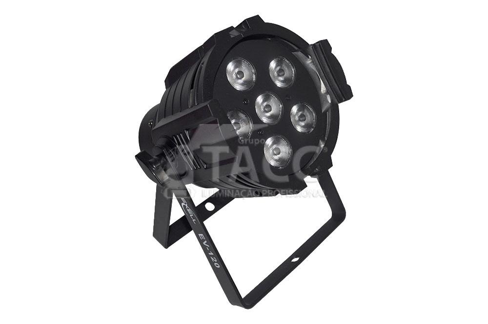 REFLETOR LED 12W RGBW FULL EV-120