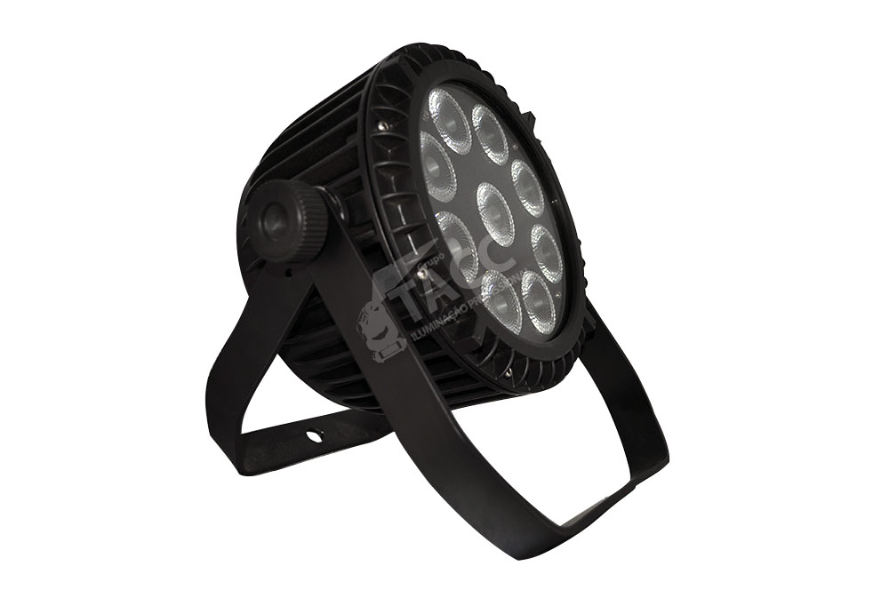 REFLETOR LED 9 X 12W RGBWA + UV OUTDOOR PL-1835
