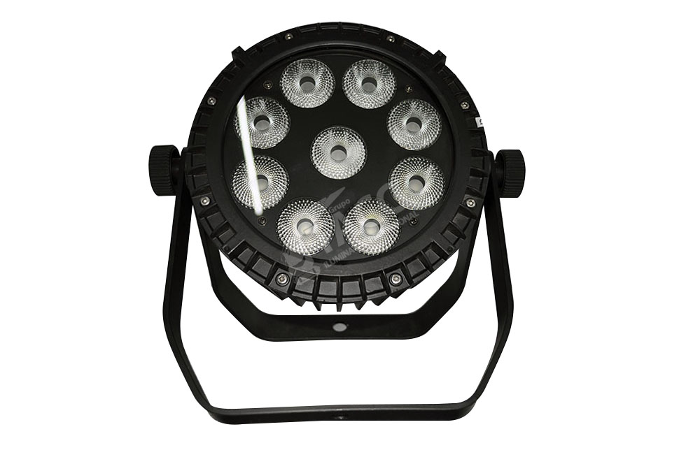 REFLETOR LED 9 X 12W RGBWA + UV OUTDOOR PL-1835