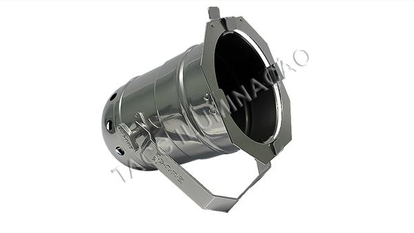 REFLETOR HALOGENA M-7 500W PRATA BRILHANTE - MECA LUX