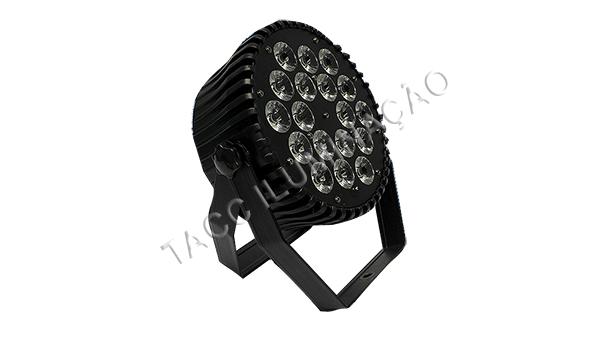 REFLETOR LED 18 X 10WTS RGBWA FULL LED SLIM
