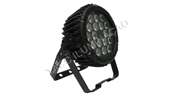 REFLETOR LED 18 X 3W FULL LED RGB OUTDOOR LY-180 - NEWLED