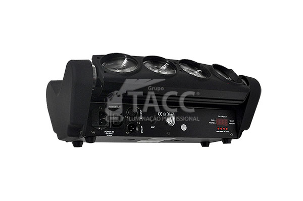 RIBALTA LED ARANHA 8 X 10W RGBW EL-85 - EXELL