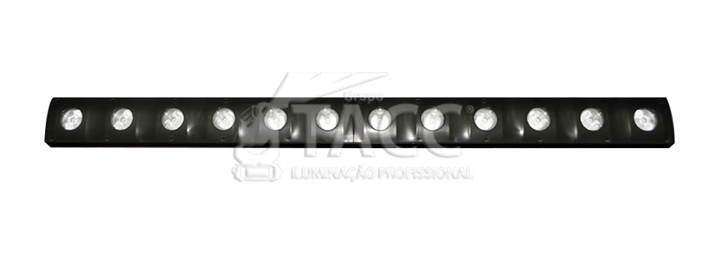 RIBALTA LED BEAM WASH 72 LED SMD 5050 + 12 X 3W BRANCO QUENTE