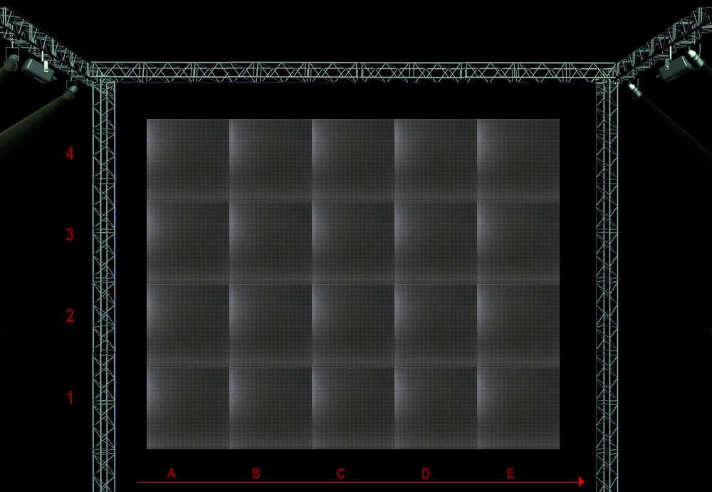 PAINEL DE LED SP-06 / SB 0,576 X 0,576MM - NEW LED