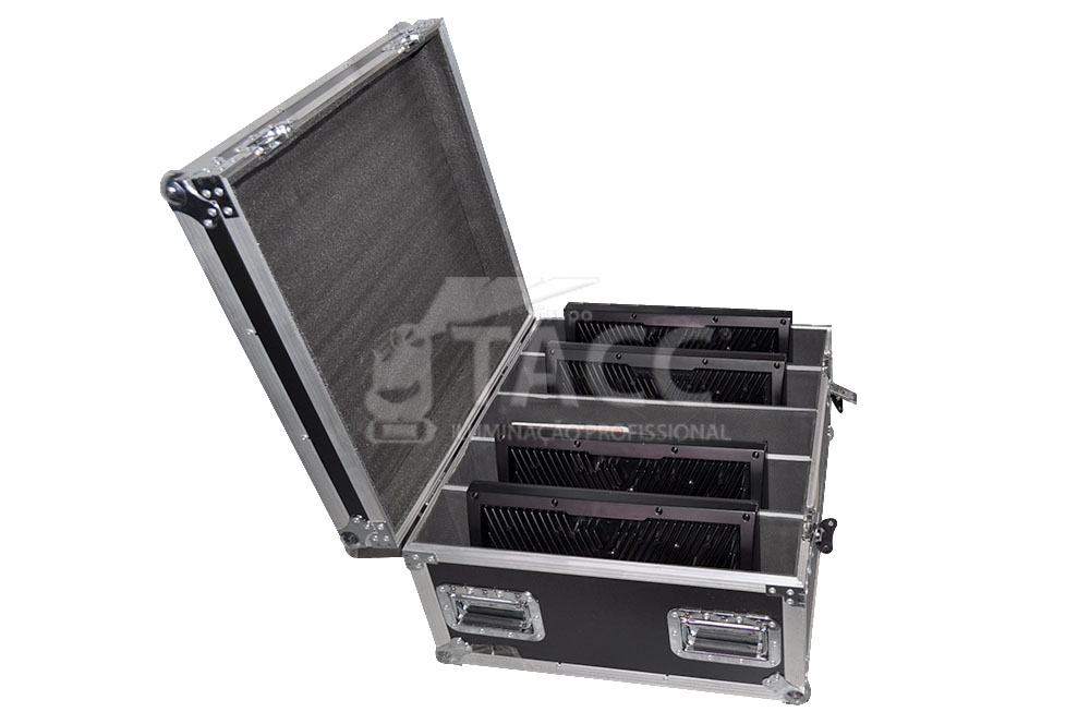 STROBO LED AL-3000 DMX NO CASE COM  4 PCS - TEC PORT