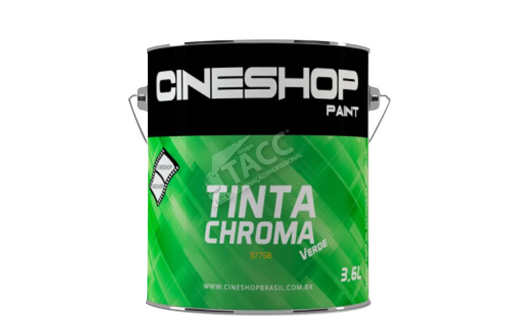TINTA CROMA KEY VERDE 3,6 LITROS