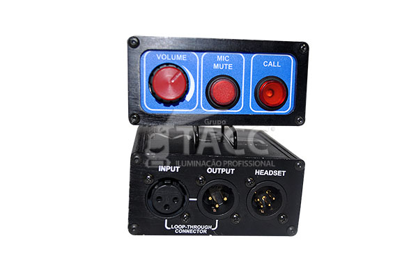 UNIDADE DE CINTO P/ INTERCOM IC-01