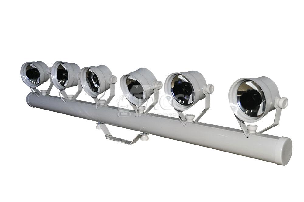 VARA COM 6 MINI TX LED PRLED613